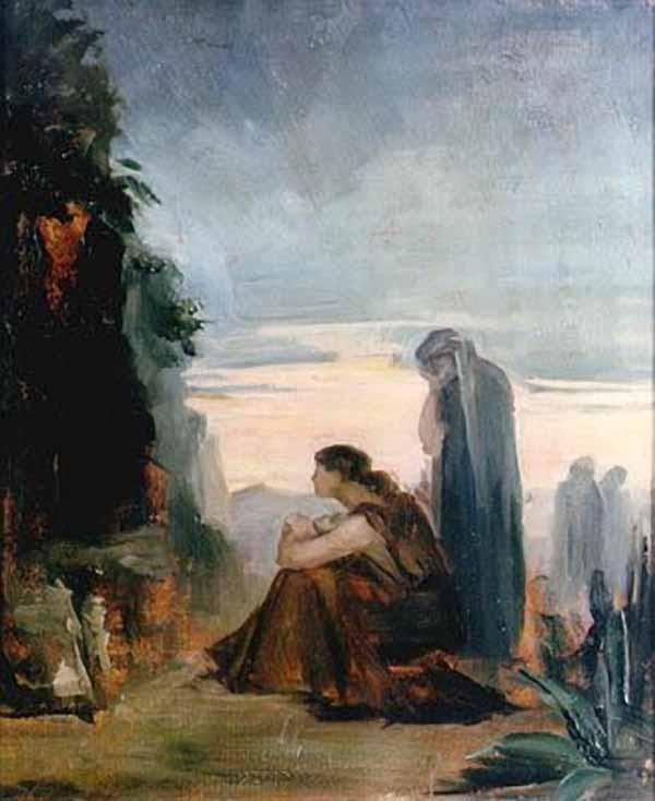 Myrrh-bearing women, Marie Bashkirtseff - 1883